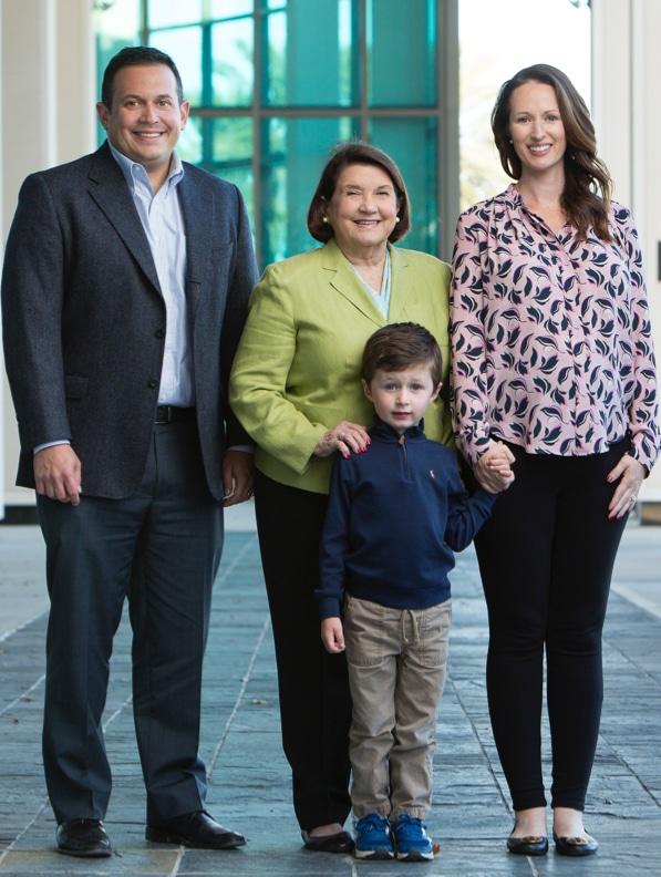 Sandra Diamond, Ben Diamond and Family