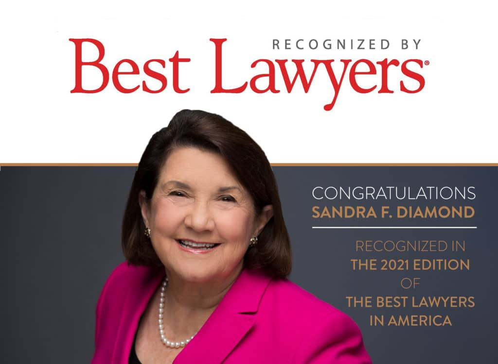 Sandra F. Diamond Best Lawyers in America 2021